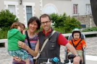Éloïse, Anne, Sébastien et Clément