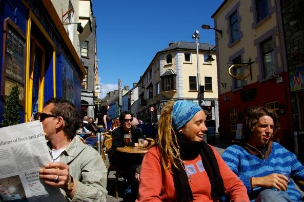 Eva et Christo avec nous, Dublin