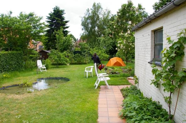 En camping chez Ann, Bruges
