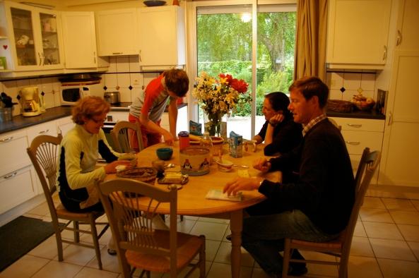 Avec la famille Pévoteau